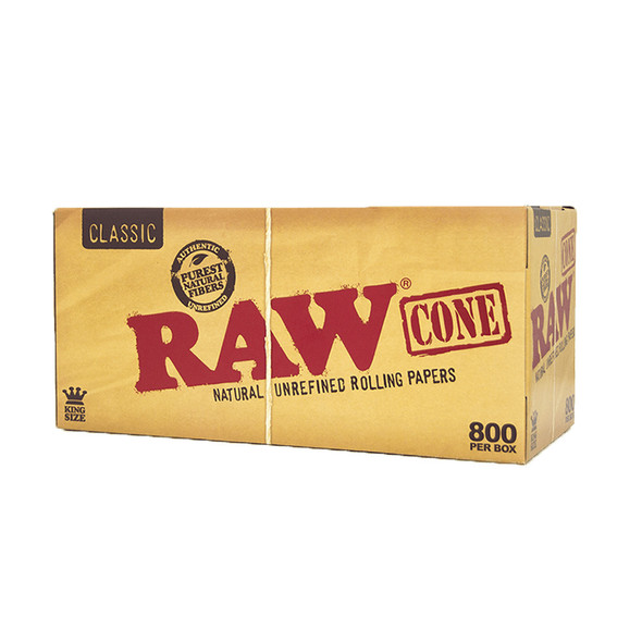 RAW Classic Pre-Rolled Cone King Size Bulk 800
