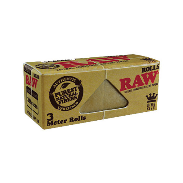 RAW Classic King Size Rolls Rolling Papers 3m