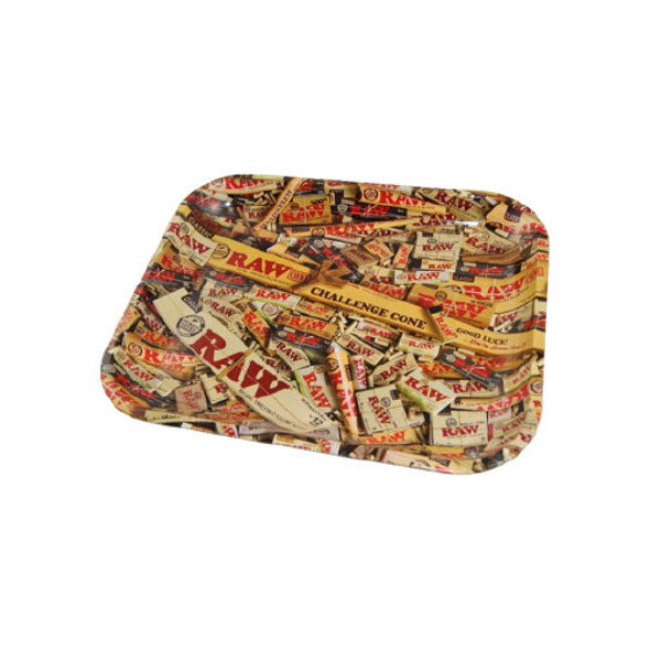 RAW Metal Mix Rolling Tray Large