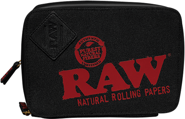 RAW Rolling Papers X TRAPPKIT Black