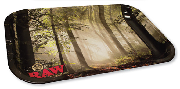 RAW Small Forest Smokey Trees Rolling Tray