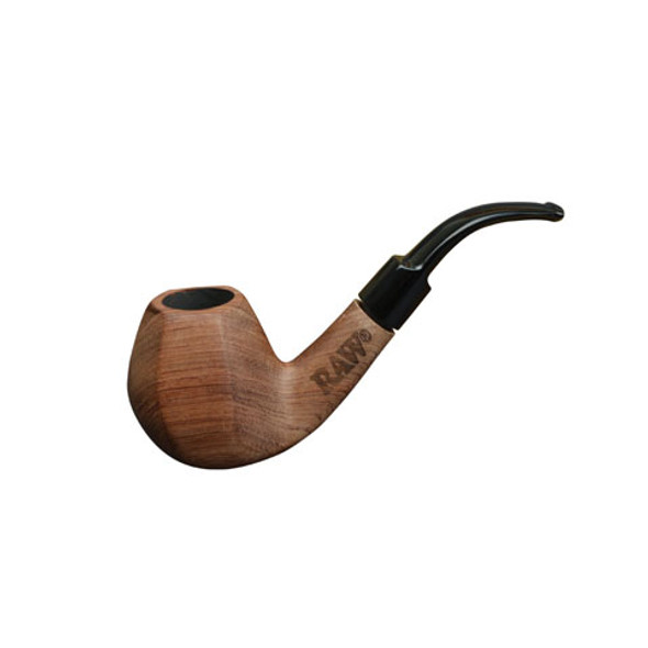 RAW Uncoated Wooden Smoking Pipe
