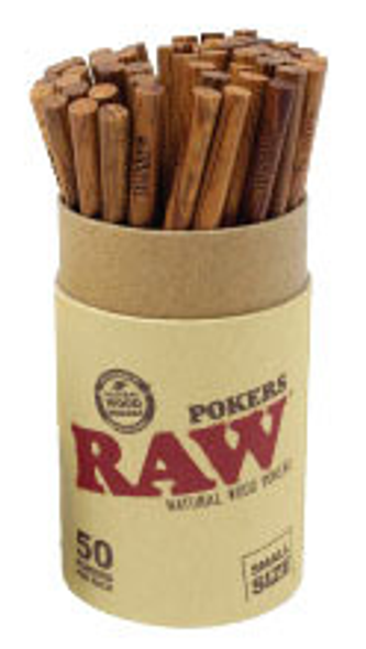 RAW Wooden Poker Small 114mm
