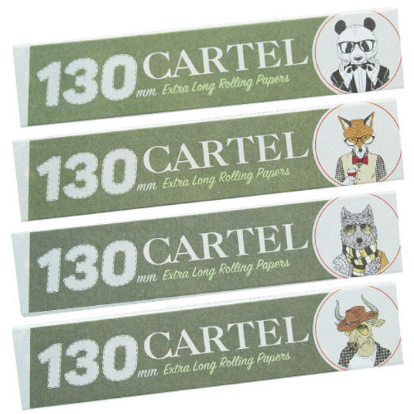CARTEL Rolling Papers Extra Long 130mm + Tips