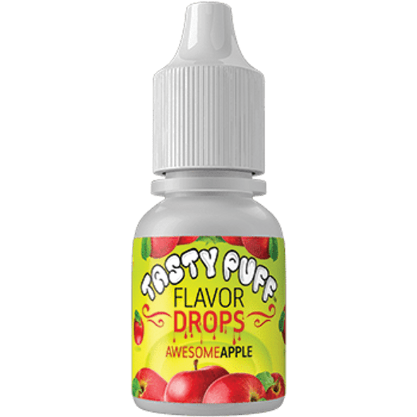 Tasty Puff Flavour Drops Awesome Apple