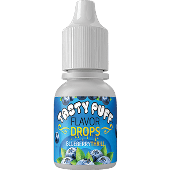 Tasty Puff Flavour Drops Blueberry Thrill