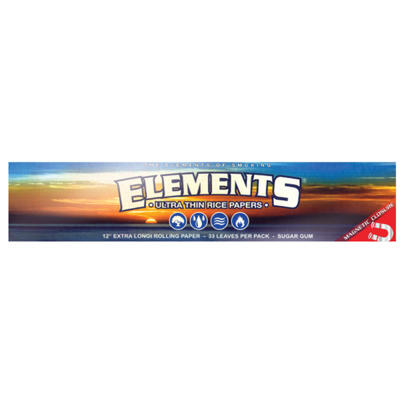 """ELEMENTS 12"""" Extra Long Rolling Paper"""