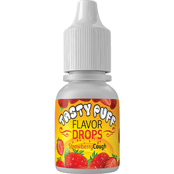 Tasty Puff Flavour Drops Strawberry Cough