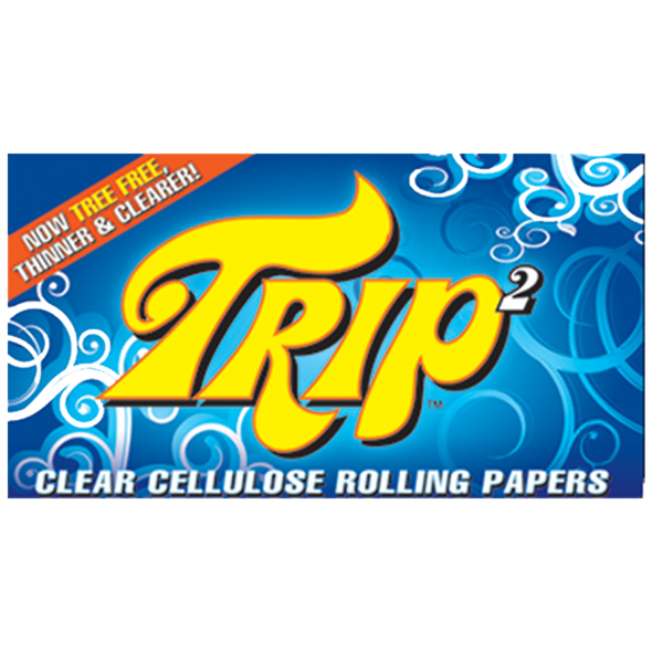 TRIP 2 1-1/4 Clear Rolling Papers