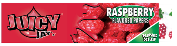 Juicy Jay's King Size Slim Raspberry Flavoured Rolling Papers