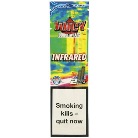 Juicy Jay's Double Wraps Infrared Blunt 2 Pack