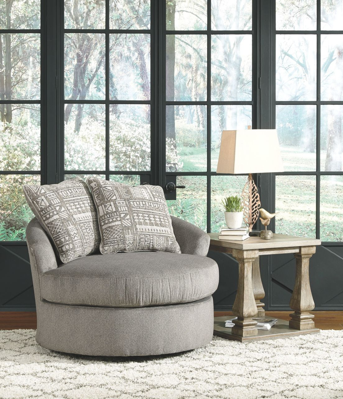 Rent A Center Accent Chairs.Soletren Ash Swivel Accent Chair