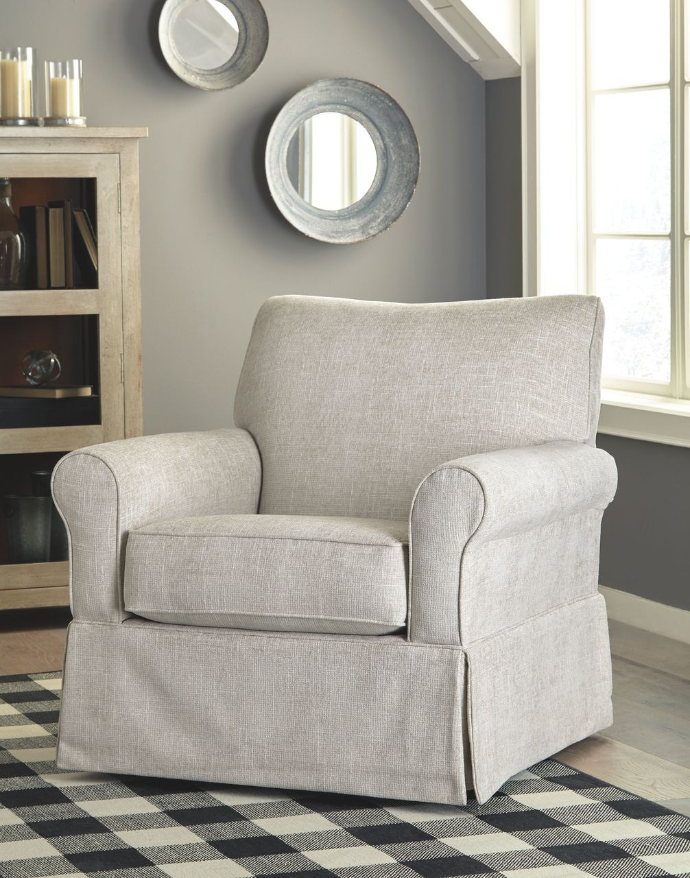 Rent A Center Accent Chairs.Searcy Quartz Swivel Glider Accent Chair