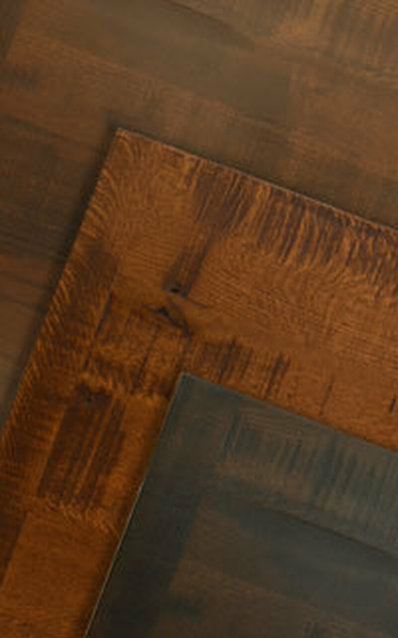 Distressed Quarter Sawn Oak Table Tops