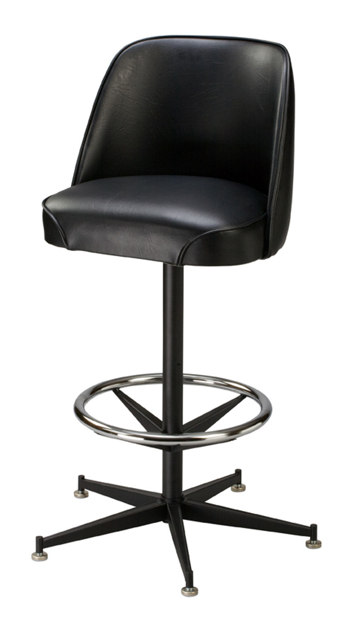 Old Fashioned Bucket Seat Commercial Counter Height Bar Stool from Regal  Seating