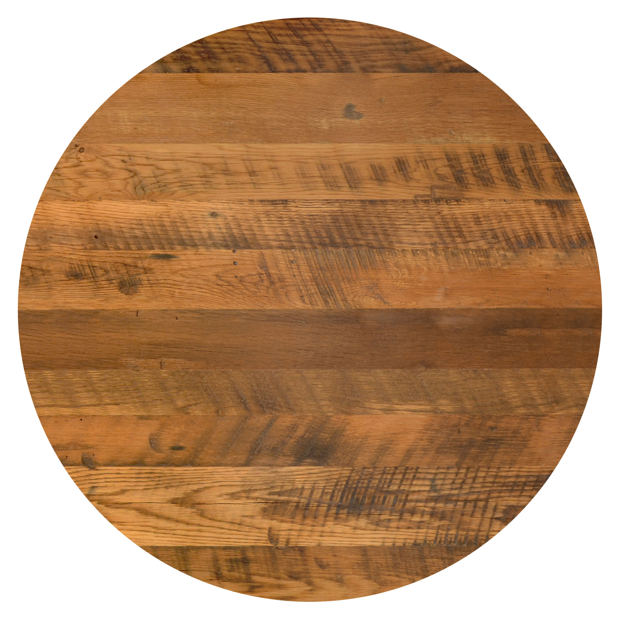 """42/"""" Round Solid Oak Restaurant Table top with Quick Ship-unfinished Eased Edge"""