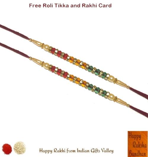 Exclusive Swastik Rakhi - Indian Gifts Valley