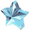 Balloon Weight Star Shaped Blue