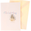 Christening Card With Handmade Wooden Church