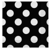 Black Big Dots Napkins (16)