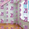 21st Glitzy Pink 6 String Decorations