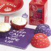 Keep Calm And Eat Cake Cupcake Cases (100)
