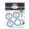 Candy Buffet Scalloped Labels Royal Blue (20)