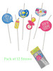 Baby Shower Straws (12)