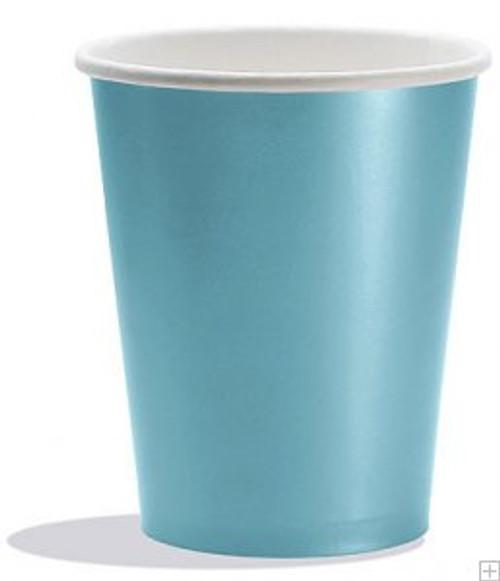 Pastel Blue Cups (8)
