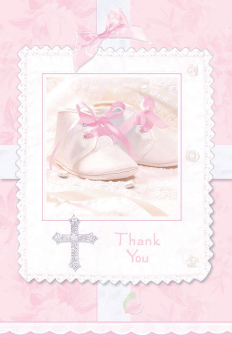 Tiny Blessings Girl Thank you Cards (8)