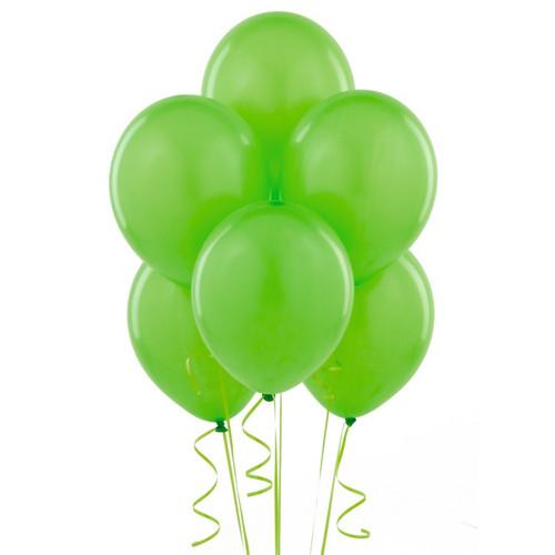 Lime Green Latex Balloon (10)
