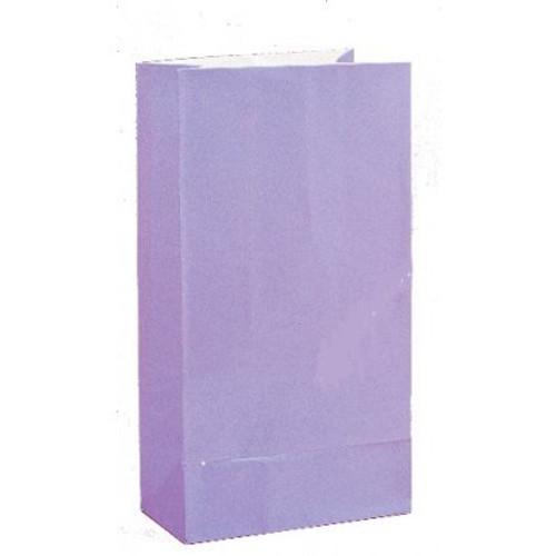 Paper Loot Bags Lavender (12)