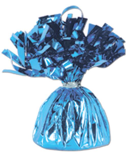 Blue Foil Balloon Weight (1)
