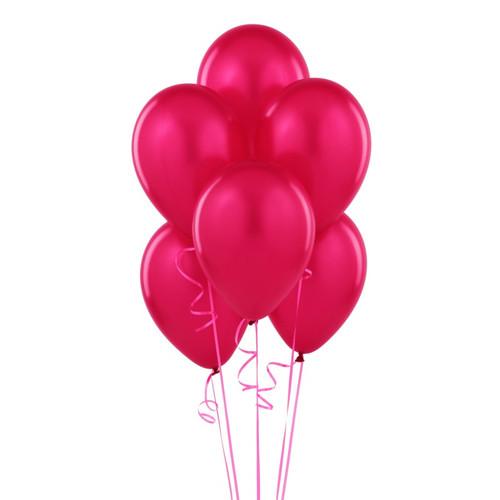 Latex Hot Pink Balloon (10)