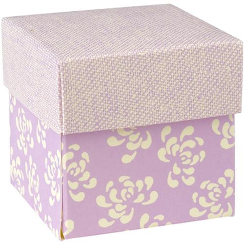 DIY Retro Lilac Square Box (5cmx5cmx5cm)