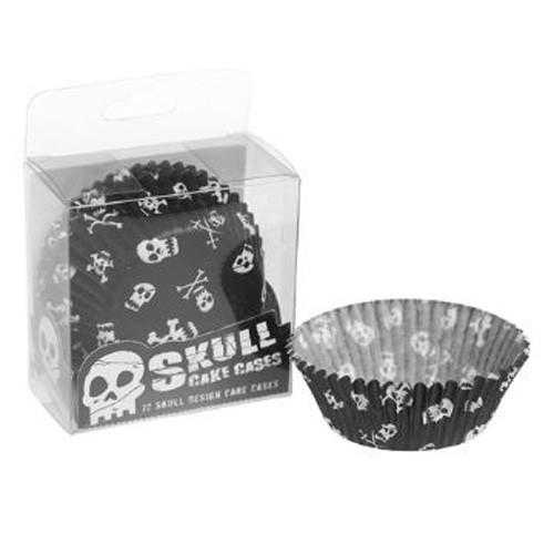 Skull & Crossbone Cupcake Cases (72)