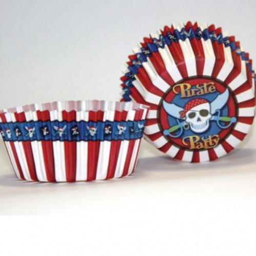 Pirate party Cake cases (50)