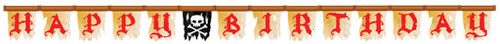 Pirates Buried Treasure Jointed Banner (2.4m)