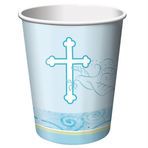 Faithful Dove Boy Religious Cups (8)