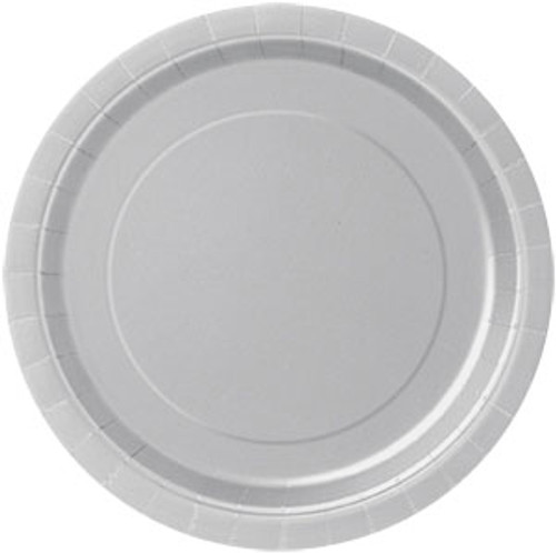 Silver Paper Plates (8)