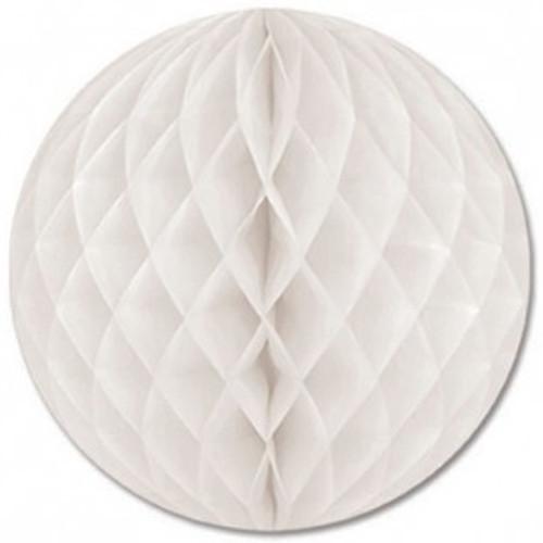 White Honeycomb Ball Paper Decoration (1)