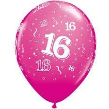 16th Birthday Balloons 5