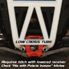 Low Cross-Tube Bumper - This hitch will NOT fit