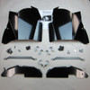 Thunderhawk RZR Inner Fender Guard Kit, Black Powdercoat
