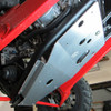 Thunderhawk PZ9901 Installed - crossmember & gear-case protected (Note: Photo shows Skid-Max installed without UHMW skid plate)