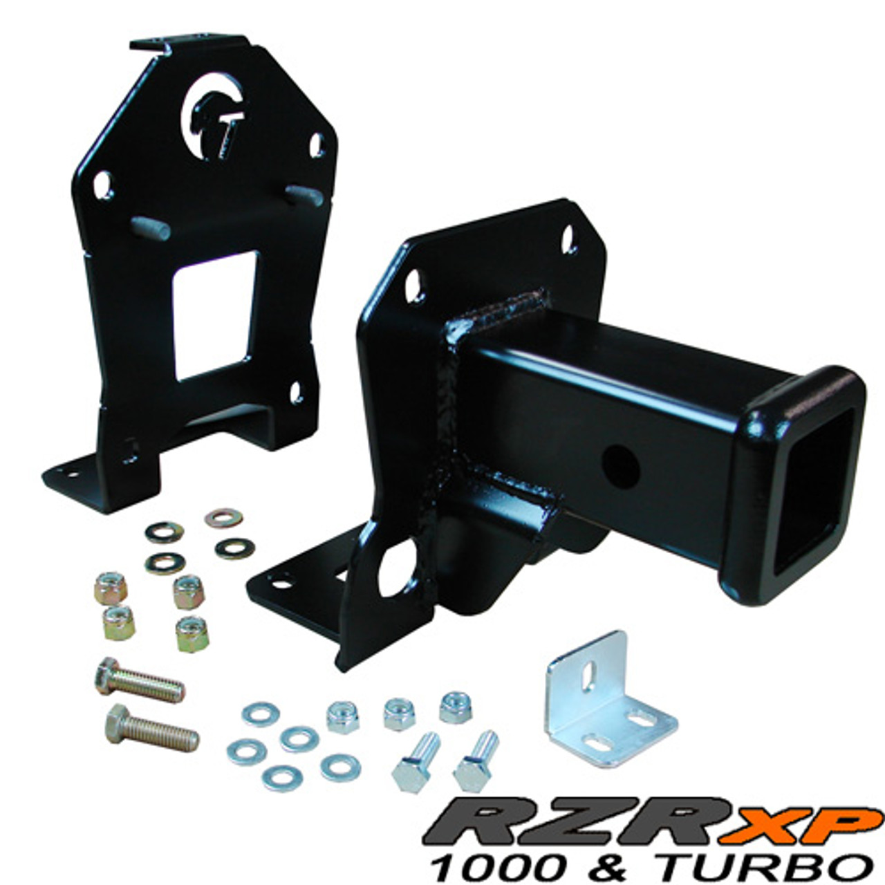 Receiver Hitch, Rear (fits with Polaris rear bumper)