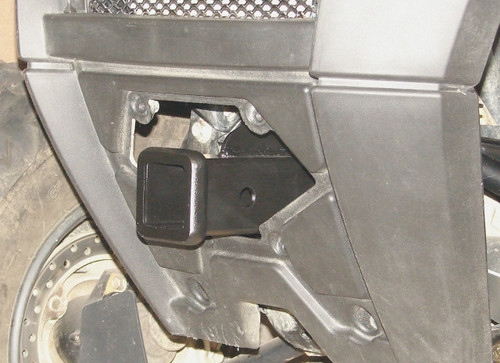 """Installed 2"""" front receiver hitch"""