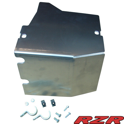 Fuel Tank Guard - Thunderhawk PH2129, Aluminum Finish