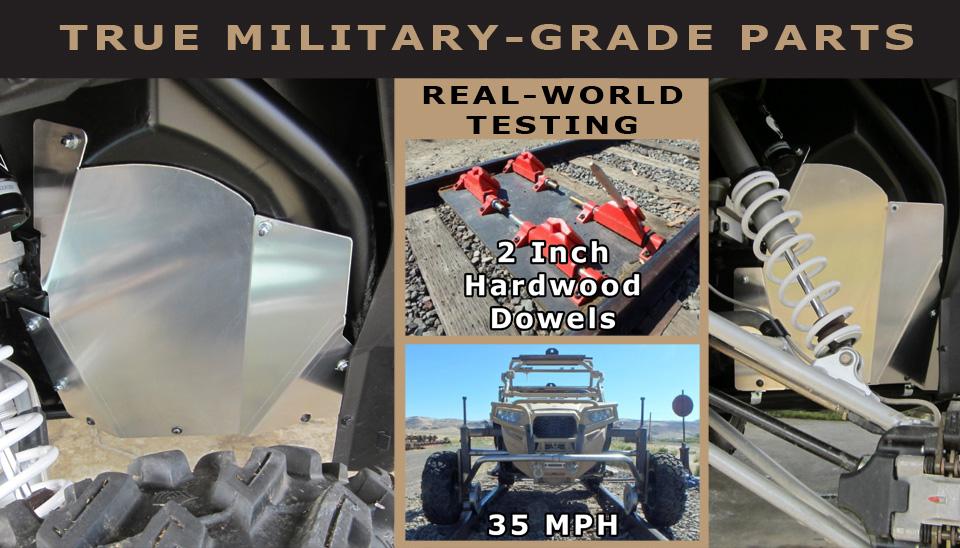 US Military orders Thunderhawk Inner Fender Guards