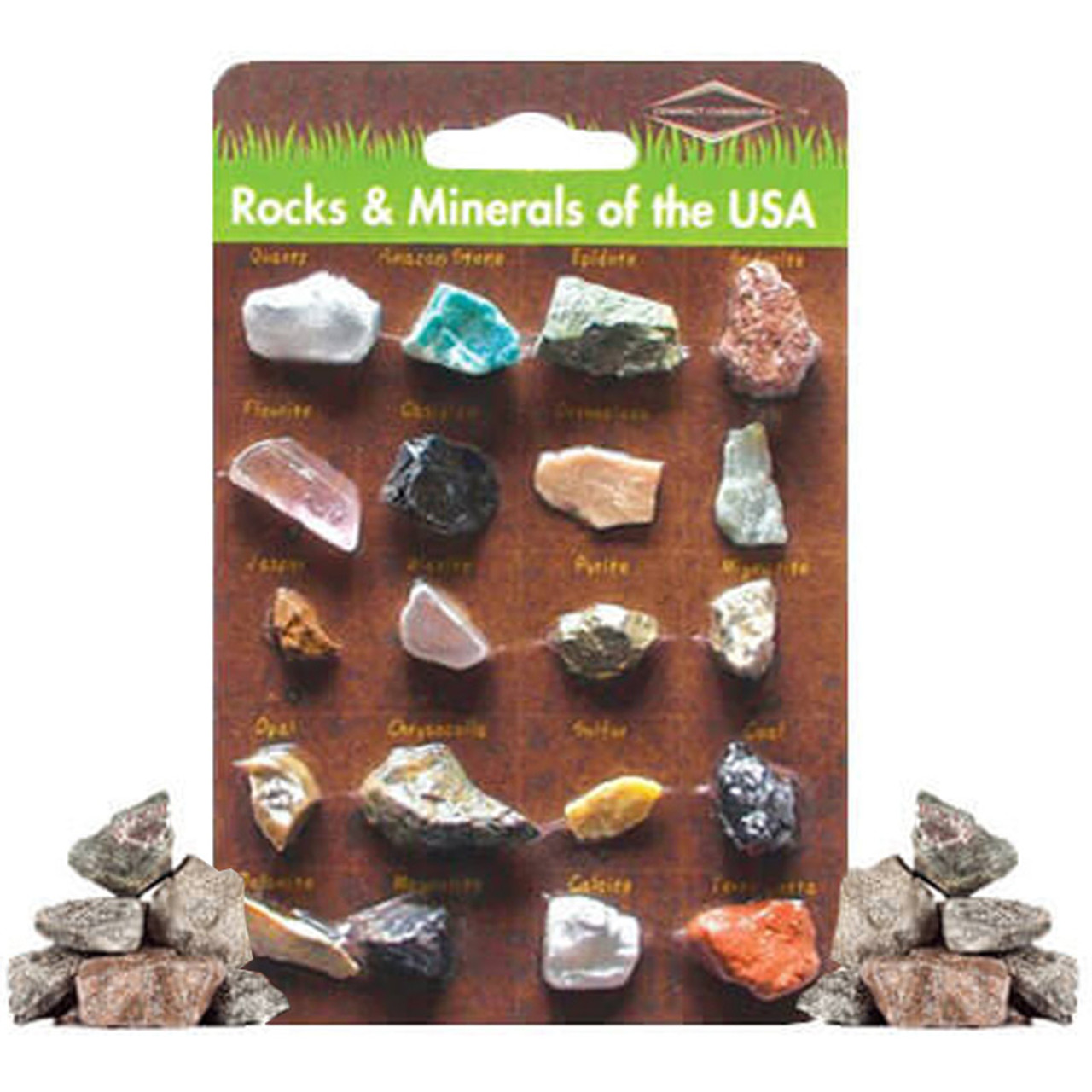 Retro Rocks & Minerals Collection